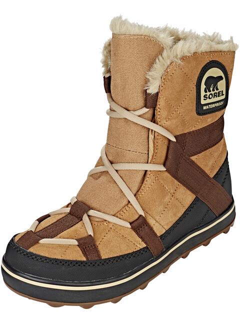 Sorel W's Glacy Explorer Shortie Boots Elk